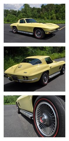 Old school muscle: 1967 Chevrolet Corvette #ThrowbackThursday