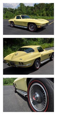 Old school muscle: 1967 Chevrolet Corvette #ThrowbackThursday