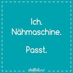 #nowordsneeded #stoffglück #zitat #quote #doityourself #spruch #nähenmachtglücklich #nähenmachtspaß #homemade #handmade #sew #sewing #selbstgenäht #nähprojekt #nähmaschine #friyay #friday #wochenende #week Love Sewing, Tricks, Hand Lettering, Sewing Projects, Bullet Journal, Couture, Instagram Posts, Quotes, Newspaper