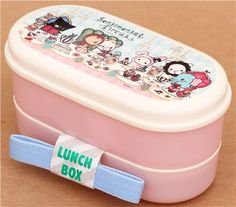 pink Sentimental Circus afternoon tea Bento Box lunch box 1