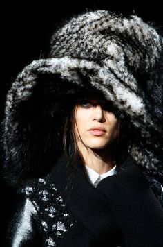 Marc Jacobs - I like giant hats...even if they are impractical for my lifestyle.