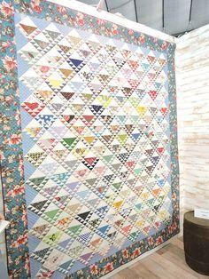 Suzuko Koseki Sawtooth quilt
