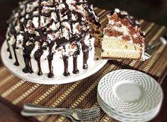 Торт Графские развалины классический рецепт с фото пошагово