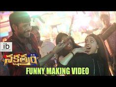 Nakshatram funny making video http://www.idlebrain.com/movietape/nakshatram.html