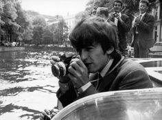 "GEORGE HARRISON ""SNAPPING SOME PHOTOS"""