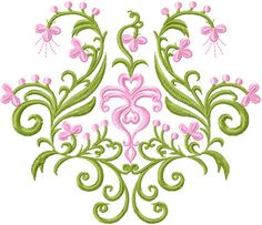 free jef embroidery designs | Flowers panel free embroidery design machine embroidery design