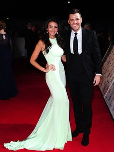 Michelle Keegan wearing Philip Armstrong Atelier – National Television Awards #2014