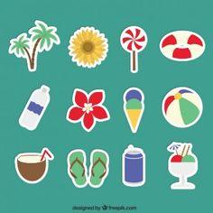 Etiquetas do verão