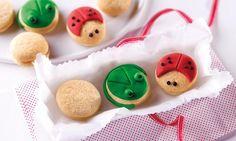 Kleine Marienkäfer Snacks
