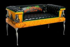 A coffin couch - awesome!