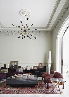 Living Room Ideas | open space | harmony | lighting | armchair | tea table | More inspirations at https://brabbu.com/