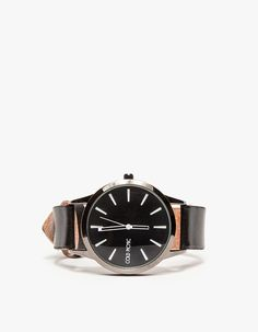 Cold Picnic Colorblock Leather Watch #Refinery29