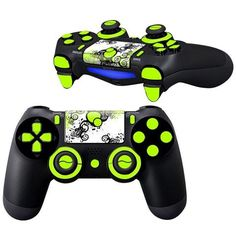 Moss Surface Texture PS 4 Controller Full Buttons skin kit - Decal Design