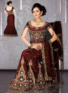 Bridal dress 2012 themarriedapp.com hearted <3 #bollywoodbride #indianwedding #desi #hinduwedding