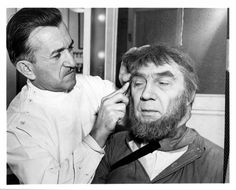 Son of Frankenstein Makeup Session with Bela Lugosi