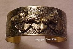 Hey, I found this really awesome Etsy listing at https://www.etsy.com/listing/10444477/horse-jewelry-bracelet-equestrian-cuff