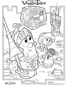 Free Veggie Tales Word Search Printable Coloring Pages