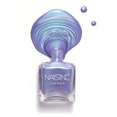 NAILS INC. Unicorn Nail Polish Duo (¥1,690) ❤ liked on Polyvore featuring beauty products, nail care and nail polish