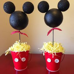 Mickey Mouse Party Table Decorations por BailensPerfectParty