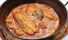 Receta Bacalao con patatas