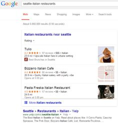 Max Minzer posted on Google+ a screen shot of a new user interface Google is testing for local results within the web search results.  We spotted something similar back in August where Google was dropping the local carousel from the search results with this...