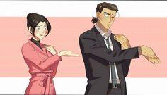 Dance with yui uehara and kansuke yamato Dc Police, Manga Detective Conan, Detective Conan Wallpapers, Gosho Aoyama, Detektif Conan, Magic Kaito, Case Closed, Yui, Sherlock Holmes