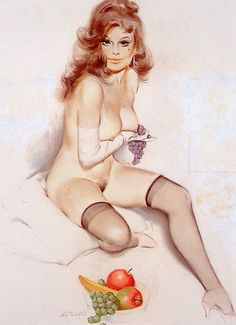 Vintage Pin Up Girls of Fritz Willis Gakkery 1 (5)