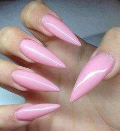 long stiletto acrylic nails - Google Search