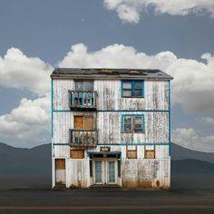 Western Union, Pioche, Nevada - Ed Freeman Fine Art Minimal Photography, Amazing Photography, Art Photography, Ed Freeman, Photo Ed, Space City, Dark City, Tiny House Cabin, Back Road