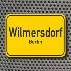 ღღ Ortsschild: Berlin-