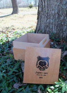 Asylum 13 Wood Chest Large Treasure Box by IndustrialPlanet, $22.40