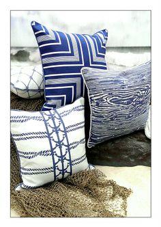 - Royalty Collection - Outdoor Pillows | Coastal Home Pillows | Beach Pillows