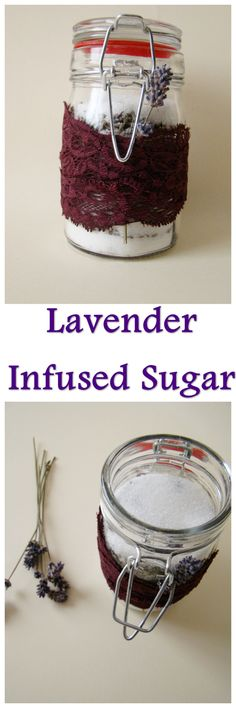 Making infused sugars is one of my favorite things to do lately. We normally don't eat white sugar, but you can't really do these things with brown sugarbecause you can't se… #infusedsugar, #lavendersugar #diygift