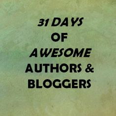 My focus for the Write 31 Days challenge