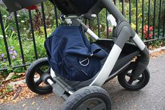 Stokke Changing Bags hook directly onto Stokke strollers – Safe 'n Smart!