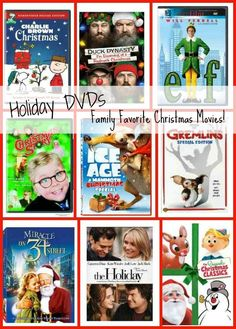 This is a great list of Holiday DVDs for the entire family.