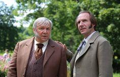 """Ralph Fiennes & VASILIY MISHCHENKO in """"Two women"""""""