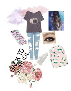 """too cool for school"" by altrobella on Polyvore featuring Topshop and Pusheen"