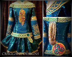 Craggane Designs Irish Dance Dresses | Storybook... Love this!It looks like a medieval dress.