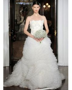 Top Wedding Dress Designers 2014; Carolina Herrera