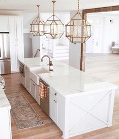great kitchen island ideas - Photos and galleries Tags: simple kitchen des . - great kitchen island ideas – Photos and galleries Tags: simple kitchen des …, - Kitchen Design Gallery, Simple Kitchen Design, Kitchen Designs Photos, Kitchen Photos, White Kitchen Designs, Large Kitchen Island Designs, Home Design, Küchen Design, Design Ideas
