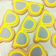 sunglasses cookies