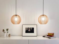 aion IUMI DESIGN wooden ceiling lamp by IUMIDESIGN on Etsy