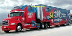 Robert McGuire uploaded this image to 'jeff n jack'. See the album on Photobucket. Nascar 24, Nascar Trucks, Nascar News, Show Trucks, Nascar Sprint Cup, Mack Trucks, Big Rig Trucks, Nascar Racing, Bristol Motors