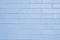 Color Azul Pastel - Pastels Blue!!!   Baby Blue Painted Brick Light Blue Aesthetic, Blue Aesthetic Pastel, Gray Aesthetic, Light Gray Paint, Grey Paint, Painted Brick Walls, Light Peach Color, Brick Wallpaper, Photo Wall Collage