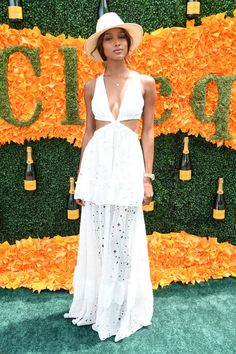 The Best Looks From the Veuve Clicquot Polo Match -- Jasmine Tookes