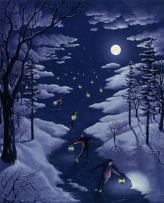25 Mind Twisting Optical Illusion Paintings By Rob Gonsalves 7.jpg