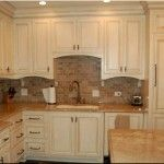 kitchen cabinets tile backsplash
