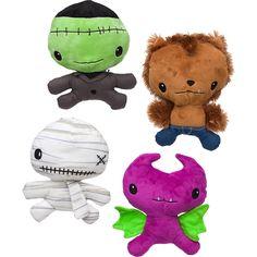 Petco Halloween Big Head Monster Plush Dog Toy