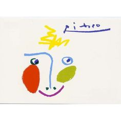 ポストカード ピカソ - アート用品 -【garitto】